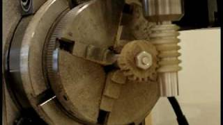 Sherline CNC Gear Cutting