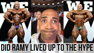 DENNIS JAMES response on BIG RAMY`s condition at MR OLYMPIA 2017
