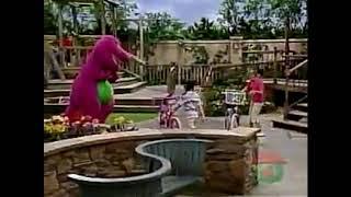 Barney's Very Tragic Parade Adventure. RIP Barney