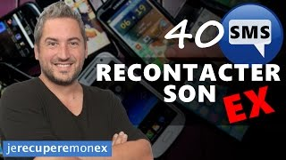 40 SMS Pour Recontacter Son Ex