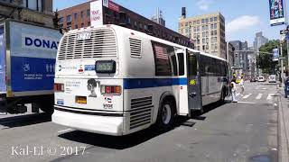 NYCTA: 1999 Novabus T80206 RTS #5216 on a W. 44th St bound M55