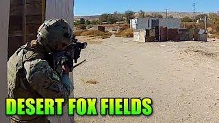 Desert City Combat - G&G F2000 (Airsoft Desert Fox Fields Gameplay/Commentary)