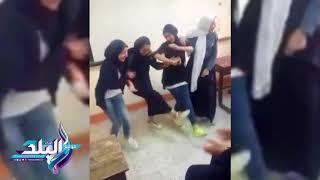 إحالة واقعة رقص طالبات الثانوى بدمياط على أغانى المهرجانات داخل الفصول للتحقيق