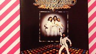 "THE ORIGINAL MOVIE SOUND TRACK CD ""  SATURDAY NIGHT FEVER """
