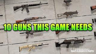 10 Guns That Will Make PUBG Way Better