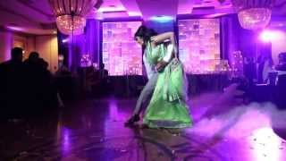 Sajeev and Vinitha's Wedding Reception - First Dance!