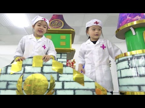 Xxx Mp4 Kids Pretend Play Indoor Playground At Center For Children With Nursery Rhymes Songs For Babies 3gp Sex