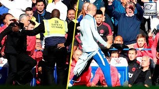 Jose Mourinho Stopped By Security From Running Behind Ianni In Anger