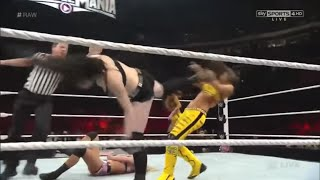 Paige & Emma vs  The Bella Twins-(Paige Attack Brie And Nikki Save Brie)