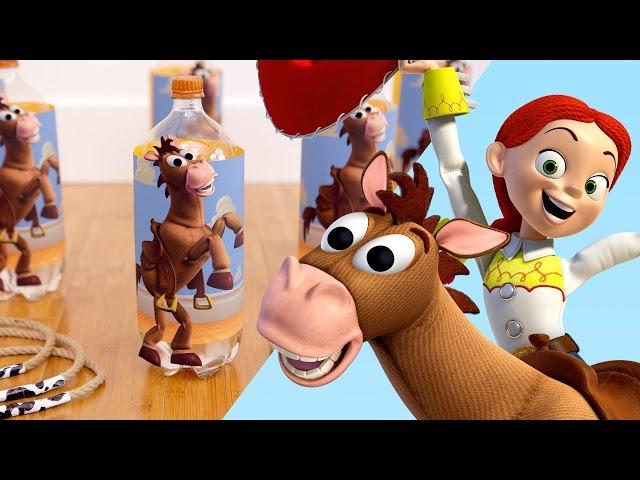 Toy Story Inspired Jessie and Bullseye Ring Toss   Disney Family