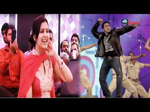 Xxx Mp4 हरियाणा की डांसर सपना चौधरी दिखेगी सलमान खान के साथ Haryanvi Dancer In Bigg Boss 11 3gp Sex