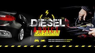 Odpalamy silnik Diesel TDI Goclever Drive Power Pack & Car Starter