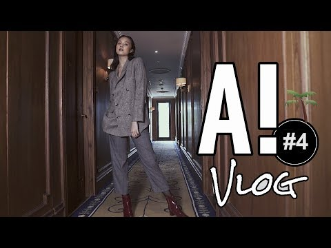 BECOME A PROFESSIONAL FASHION MODEL IN ONE DAY l #A!Vlog 4