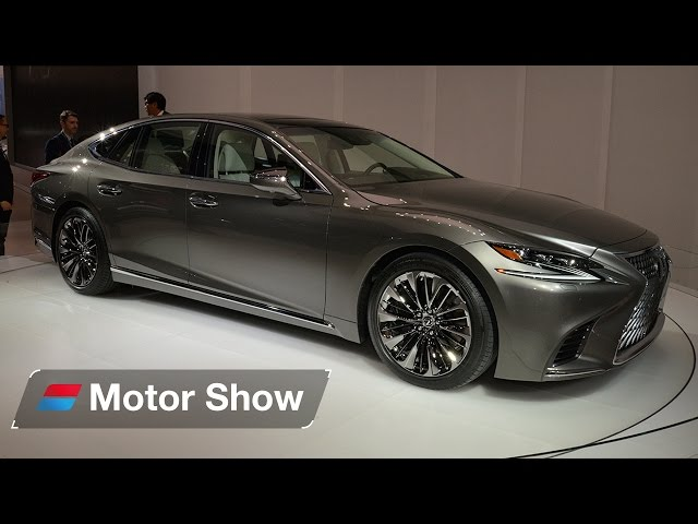 2017 Lexus LS 500 - First Look at the Detroit Motor Show