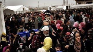 العراق: مخيم جديد لإيواء النازحين الهاربين من أتون المعارك في غرب الموصل