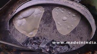 Tandoori Roti Without Oven   Tandoori Roti Preparation - How To Make   How to make naan on Tawa ?