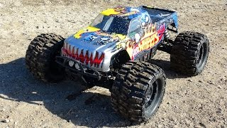 RC ADVENTURES - 6s Lipo HOT WHEELS HPi SAVAGE FLUX HP w/ FLM Kit - Monster Truck