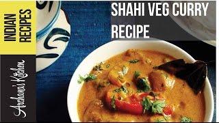 Hyderabadi Shahi Vegetable Curry Recipe - Indian Sabzi Recipes by Archana's Kitchen
