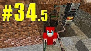 Minecraft Equipe Survival 2.0 #34.5 - O SISTEMA DE MINERAÇÃO INFINITO! - SOLO