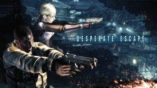 Resident Evil 5: Gold Edition - Desperate Escape (All Cutscenes) (HD 720p)