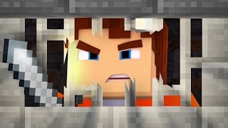 ESCAPING FROM MINECRAFT PRISON! (Minecraft)
