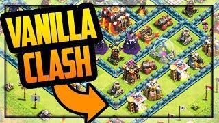 """VANILLA Clash"" Clash of Clans Update - NEW Village Concept!"