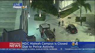 All Classes Canceled at MDC Hialeah Campus Until 10 AM