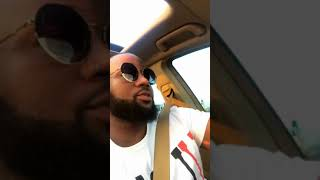 Cassper Nyovest Sings his song Destiny in his new Mercedes Maybach