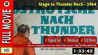 Watch Stage to Thunder Rock (1964)