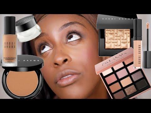 Full Face of Bobbi Brown Makeup But The CREASING GIRL Jackie Aina