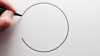 How to Draw a Perfect Circle Freehand: Narrated Step by Step