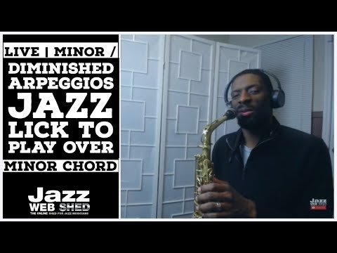 Xxx Mp4 LIVE Minor Diminished Arpeggios Jazz Lick To Play Over Minor Chord 3gp Sex