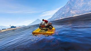 CRAZY STUNT CHALLENGE! - (GTA 5 Stunts & Fails)