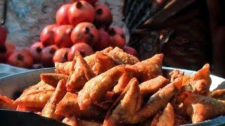 ONION SAMOSA    STREET FOOD   HYDERABAD STREET FOOD