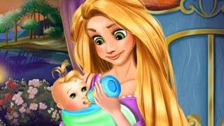 Disney Princess Rapunzel - Tangled Games for Kids - Newborn care & Baby video