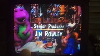 Closing to Barney Songs 2000 VHS (Homemade Copy)
