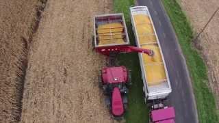 2014 Farming. Planting, Spraying, Sidedress, Harvest in Illinois! Drone. Case IH. Go pro.
