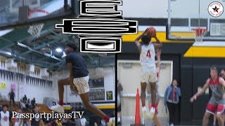 Jalen Green SHOWS OUT in FIRST AAU GAME w/ EBO!!!