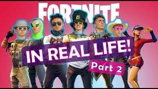 Fortnite In Real Life 2!
