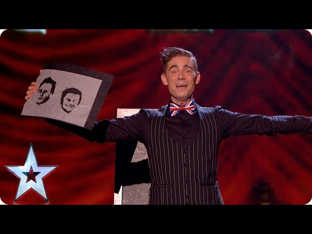 Matt Edwards still has burning love for Ant & Dec | Grand Final | Britain's Got Talent 2017