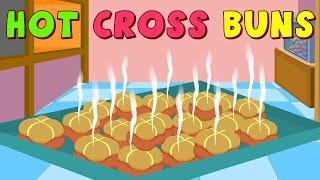 Hot Cross Buns Nursery Rhyme Ep - 42
