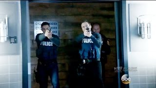 "Castle 8x22 Esposito and Ryan Rescue Castle - Rick Punches Flynn  ""Crossfire"" Series Finale"