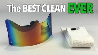 how to clean your visor  the 3 best ways