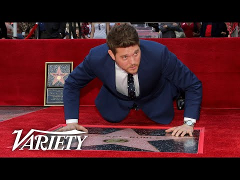 Michael Bublé - Hollywood Walk of Fame Ceremony Live Stream