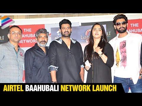 Prabhas Funny Answers To Media | Baahubali Network Launch | Rana | Anushka | SS Rajamouli