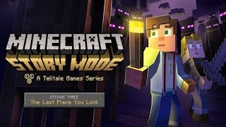 Minecraft Story Mode - Episode 3: The Last Place You Look (No Commentary)