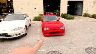 BUILD CHALLENGE CAR, MY FIRST RHD!!
