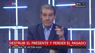 Editorial De Víctor Hugo En El Diario 19/06/2019
