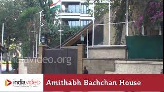 Bollywood Celebrity Home - Amithabh Bachchan & Jaya Bachchan's House In Mumbai | India Video