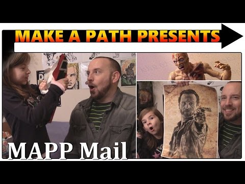 MAPP Mail #35: Mr. RICK GRIMES, WORLD WAR Z & more!